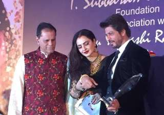 Shah Rukh Khan honoured with Yash Chopra Award -...