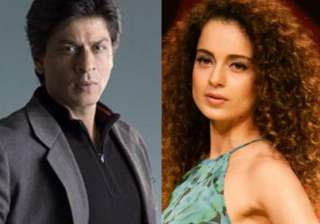 Shah Rukh Khan and Kangana Ranaut - India TV