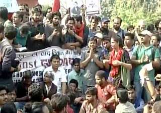 Students march to 'save DU' from ABVP, 'reclaim'...