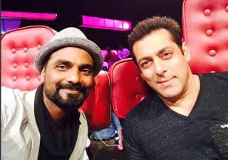 Salman Khan and Remo - India TV