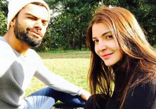 virat posted a sweet message for Anushka on...
