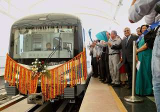 Rapid Metro Phase-2 launched in Gurugram - India TV