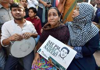 CBI team visits JNU campus to probe Najeeb's...