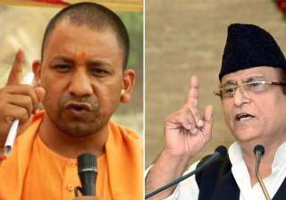 Yogi Adityanath and azam Khan - India TV