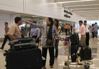 No hand baggage stamping at seven airports...