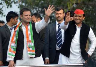 Congress eyeing 'mahagathbandhan' with SP,...
