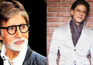 Amitabh Bachchan and Shah Rukh Khan - India TV