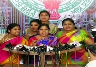 Ruckus in Andhra Assembly as women lawmakers...