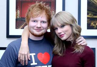 Ed Sheeran, Taylor Swift - India TV