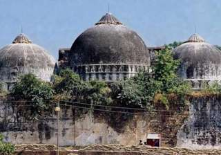 Babri Masjid demolition case: SC recommends...
