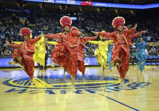 Bhangra Empire hits NBA halftime - India TV