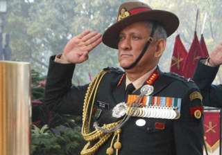 Bipin Rawat to be conferred with honorary rank of...