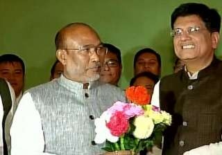 BJP, Manipur, Piyush Goyal - India TV