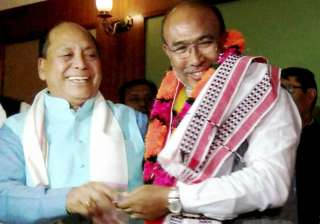 Biren Singh is tipped to be the first BJP CM of...