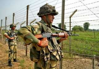 Pakistan Army violated ceasefire on LoC on Sunday...