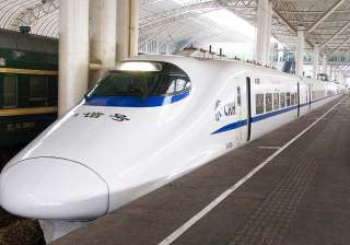 China's bullet trains are one of the fastest in...