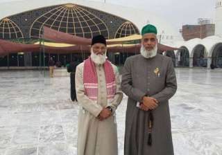 Two missing Indian Sufi priests in custody of...