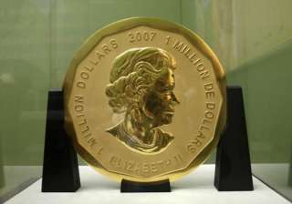 Robbers flee with 100kg gold coin from Berlin...