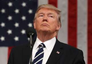 File pic of US President Donald Trump - India TV