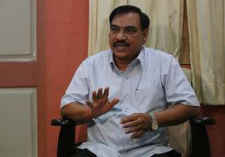 File pic of BJP leader Eknath Khadse - India TV