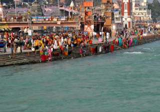 A view of holy river of Ganga - India TV