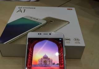 Gionee, Smartphone, Selfie, Battery - India TV