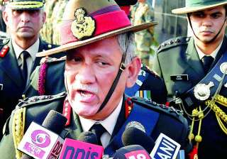 Army chief General Bipin Rawat - India TV
