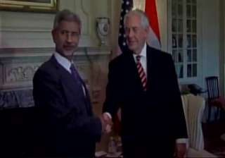 Jaishankar meets US Secretary of State Tillerson...