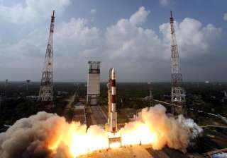 ISRO successfully launched 104 satellites on a...