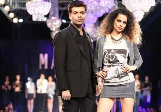 Karan johar, kangana ranaut - India TV