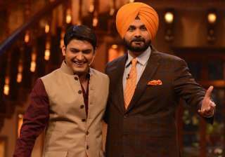 File pic Kapil Sharma and Navjot Singh Sidhu -...