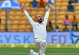 Nathan Lyon's career-best 8/50 restricts India to...