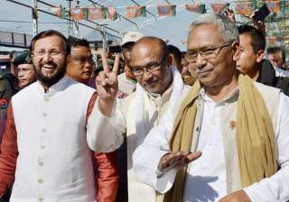 BJP-led govt wins floor test in Manipur, Biren...