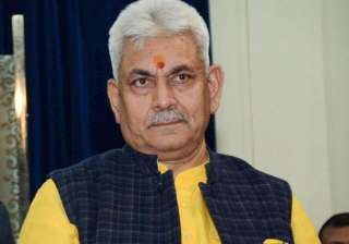 Manoj Sinha - India TV