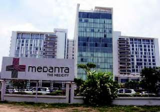Medanta Hospital's air ambulance crash-lands near...