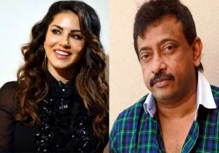 Sunny Leone and Ram Gopal Varma - India TV