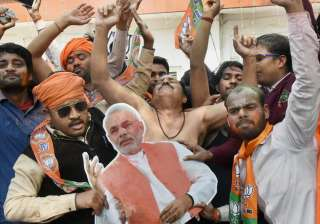 PM Modi thanks people for historic win in UP,...