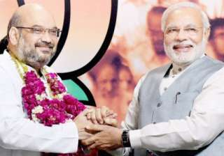 Narendra Modi with Amit Shah - India TV