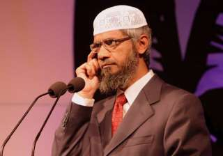 File pic of Zakir Naik - India TV