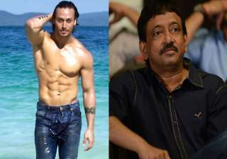 Tiger Shroff and Ram Gopal Varma - India TV