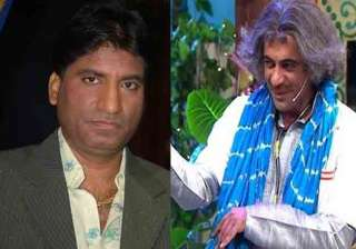 Raju Srivastav and Sunil Grover in TKSS - India TV