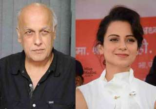 Mahesh Bhatt and Kangana Ranaut - India TV