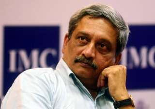 File pic of Manohar Parrikar - India TV