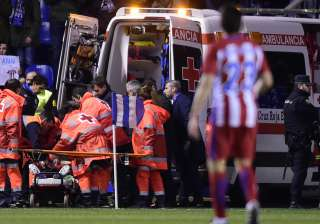 Fernando Torres suffers traumatic brain injury...