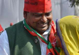 File pic of UP Minister Gayatri Prajapati - India...