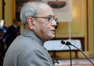 President Pranab Mukherjee calls for unity of...