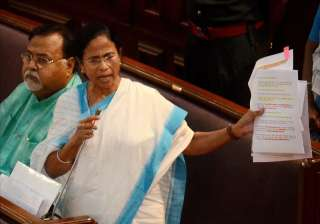Mamata Banerjee writes to Sushma Swaraj over...