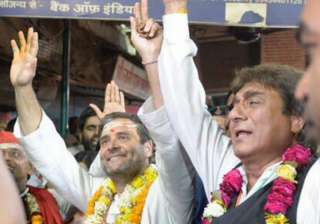 UP Congress chief Raj Babbar offers to resign...
