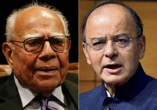 Ram Jethmalani grills Arun Jaitley for the second...