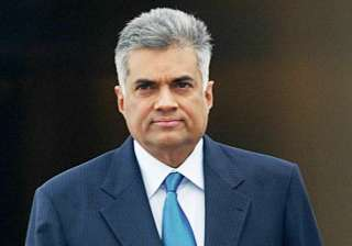 Sri Lankan Prime Minister Ranil Wickremesinghe - India TV